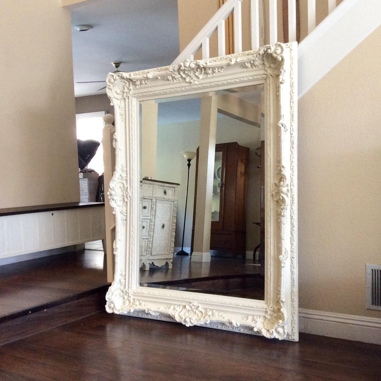 Shabby Chic White Wall Mirrors