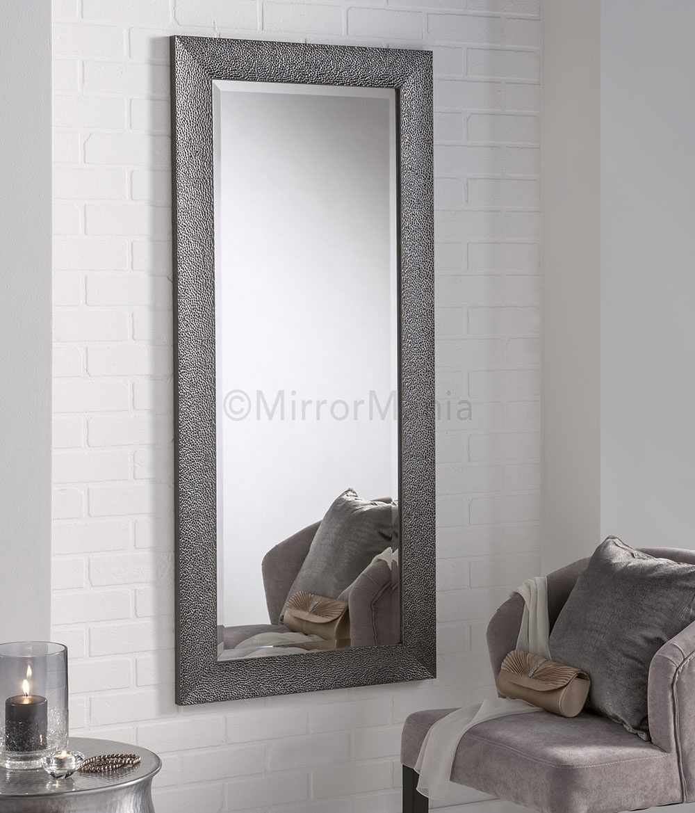 Silver Grey Wall Mirror