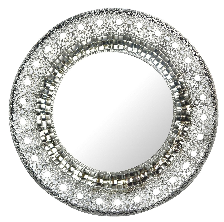 Silver Metal Wall Mirrors