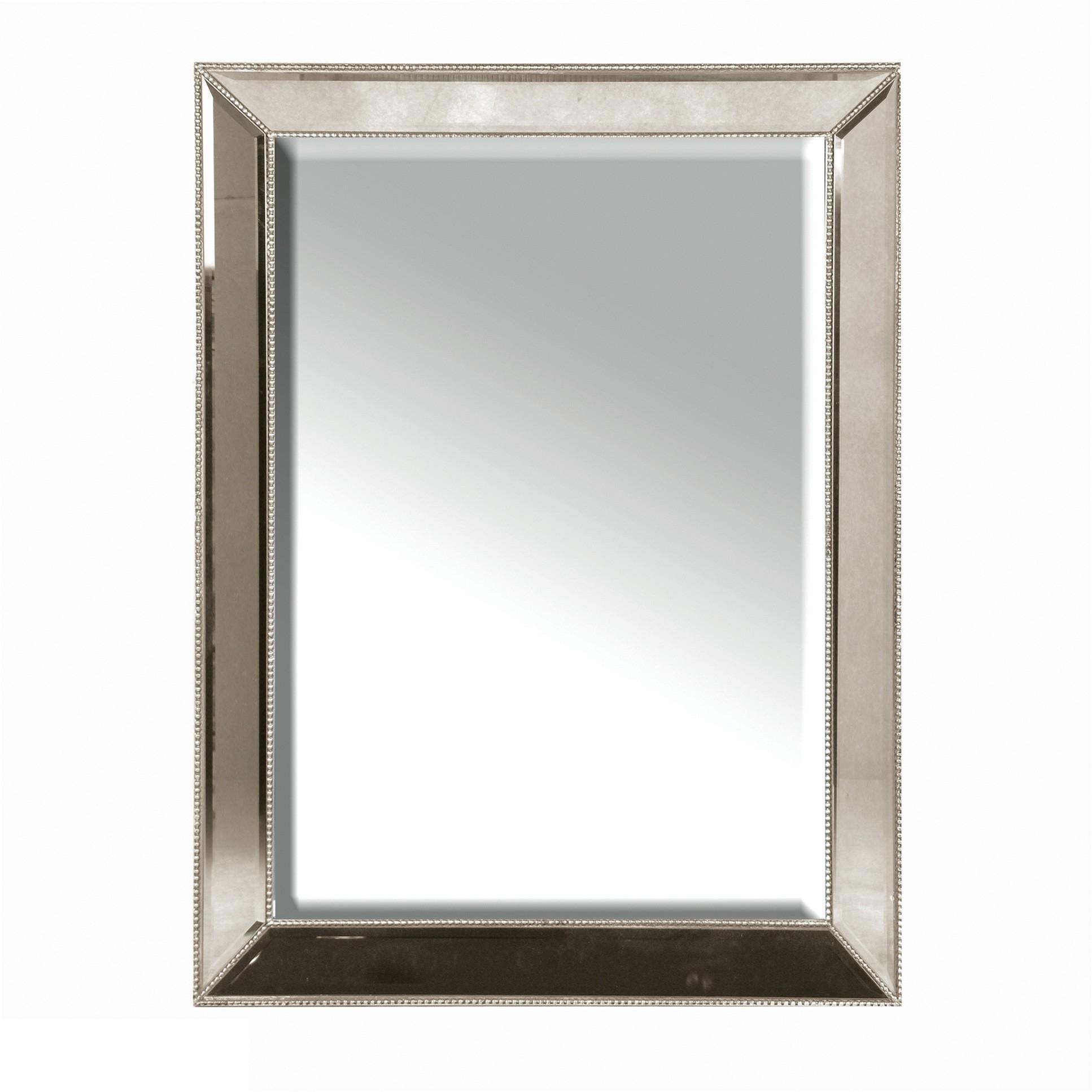 Silver Stud Wall Mirror