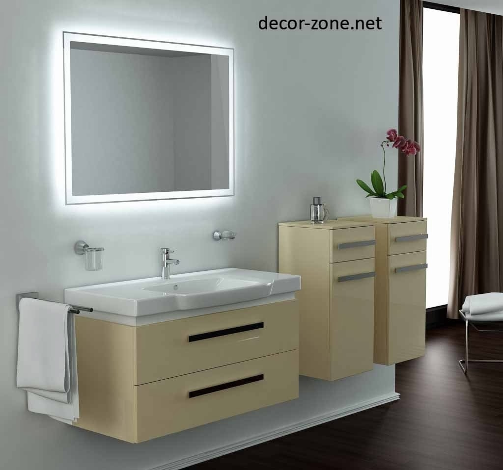 Small Bathroom Mirrors With Lightsbathroom mirror with led lights design ideas gyleshomes