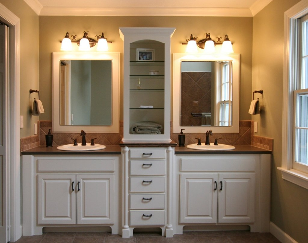 Permalink to Small Bathroom Vanity With Mirror