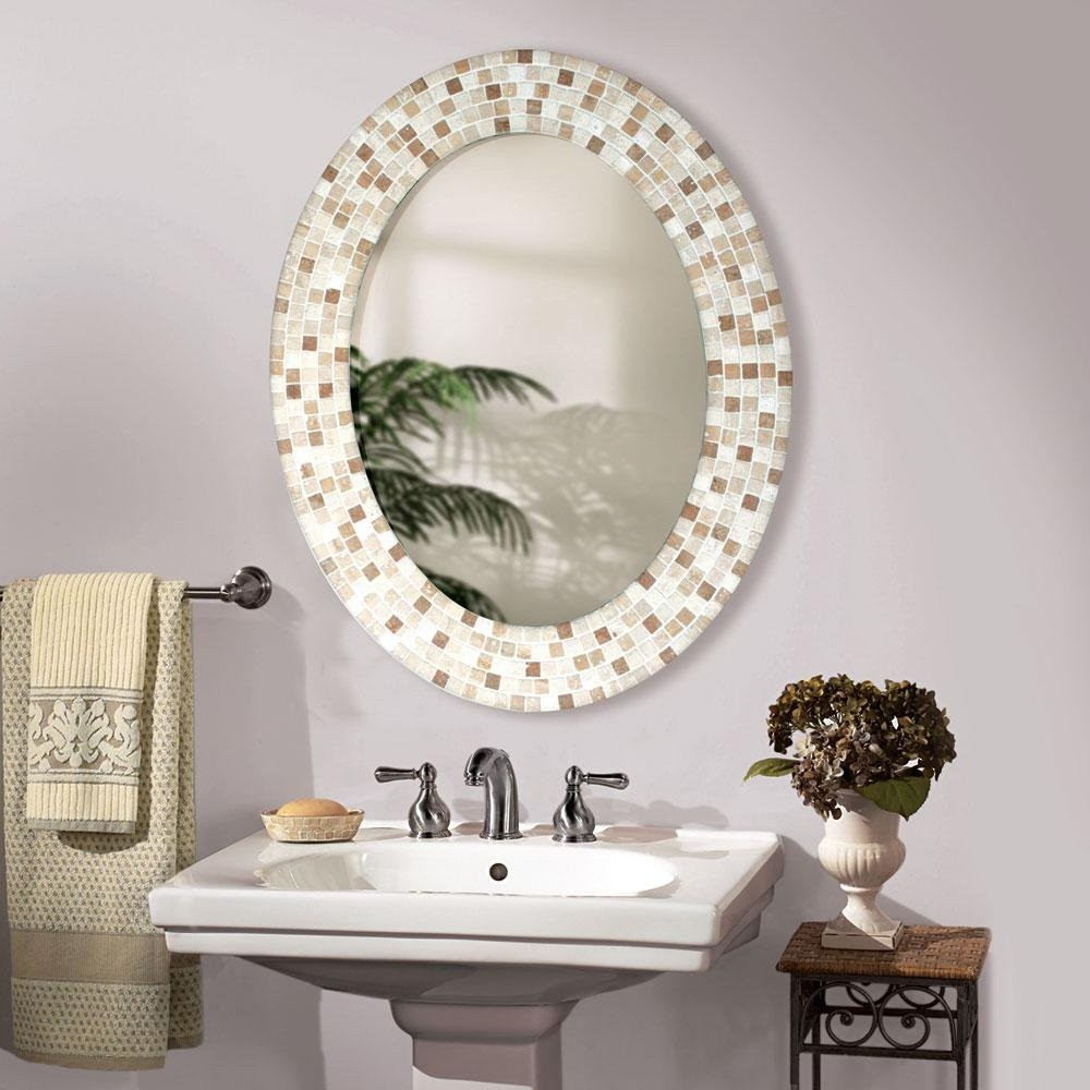 Small Ornate Bathroom Mirrors