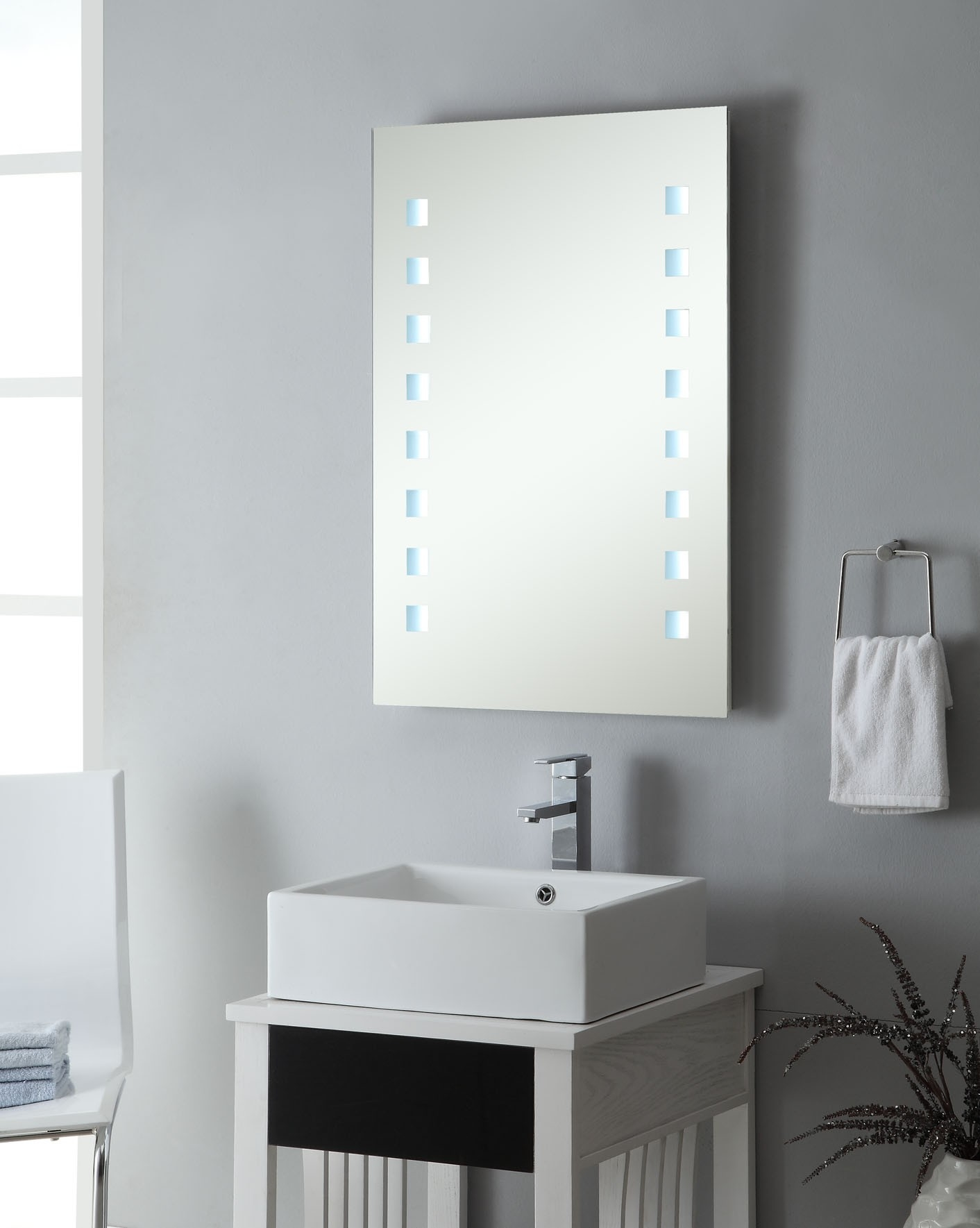 Small Square Bathroom Mirrors