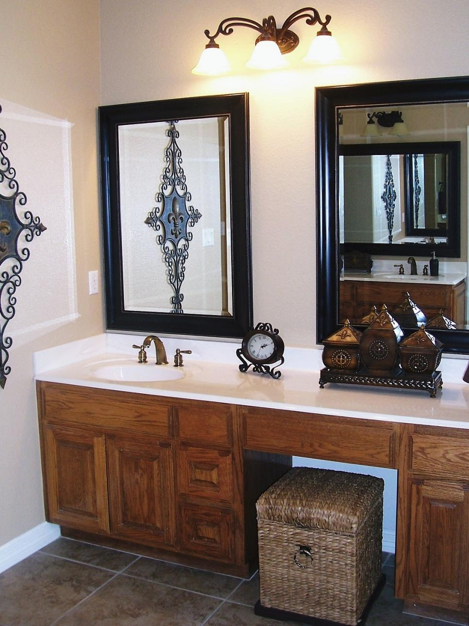Small Vanity Mirrors Bathroom