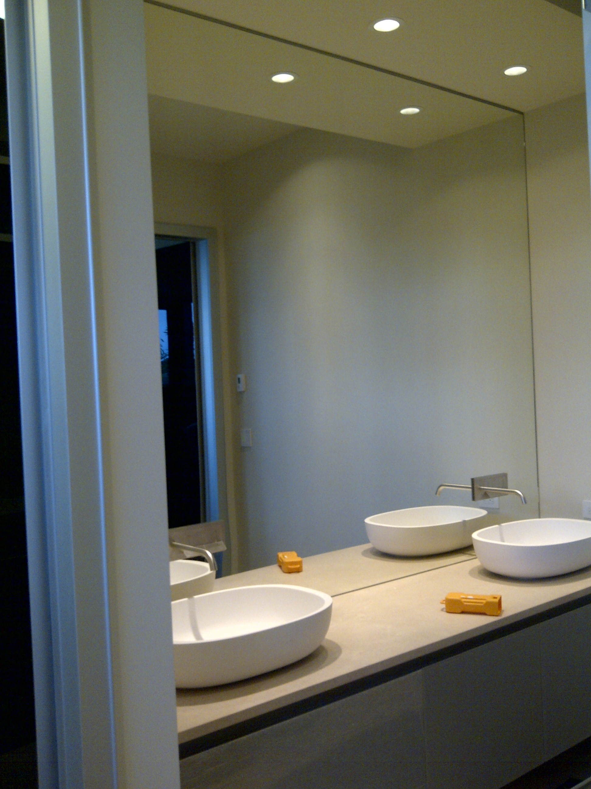 Small Wall Mirrors Bathroom