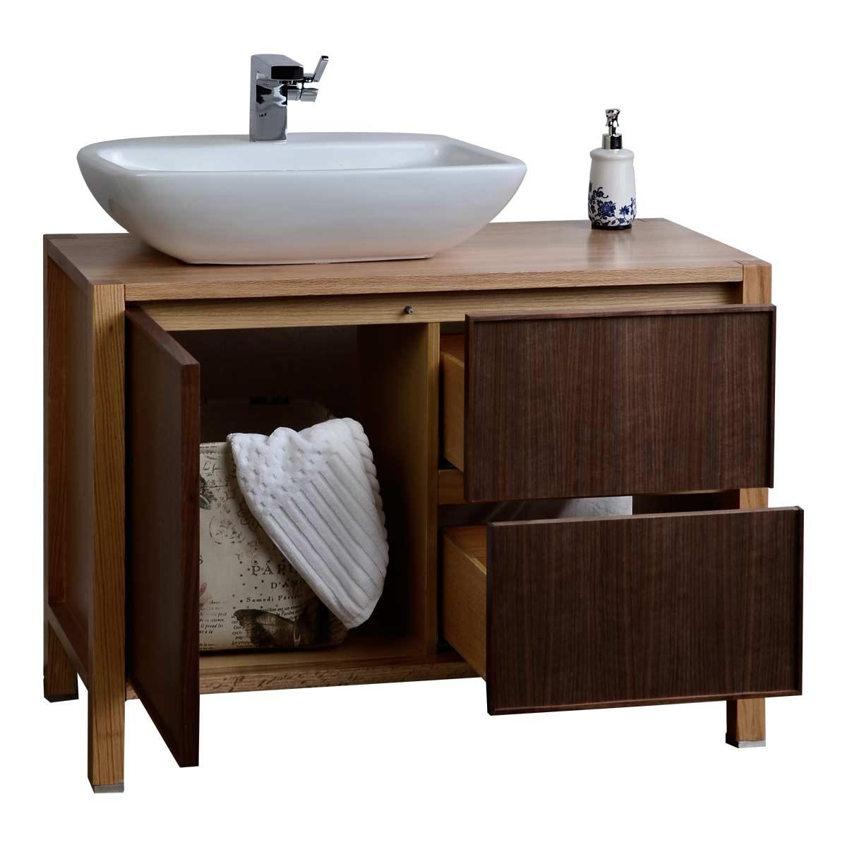 Solid Wood Bathroom Cabinet Mirror