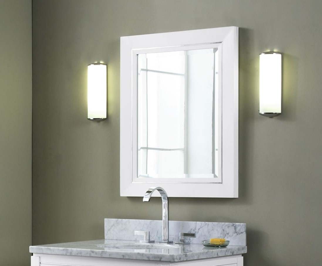 Square Bathroom Vanity Mirrors
