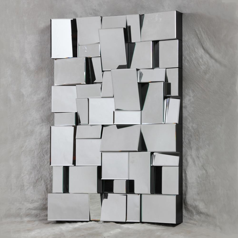 Square Mirror Wall Decals