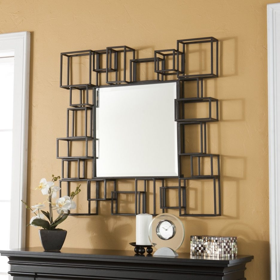 Permalink to Square Mirror Wall Decor Ideas