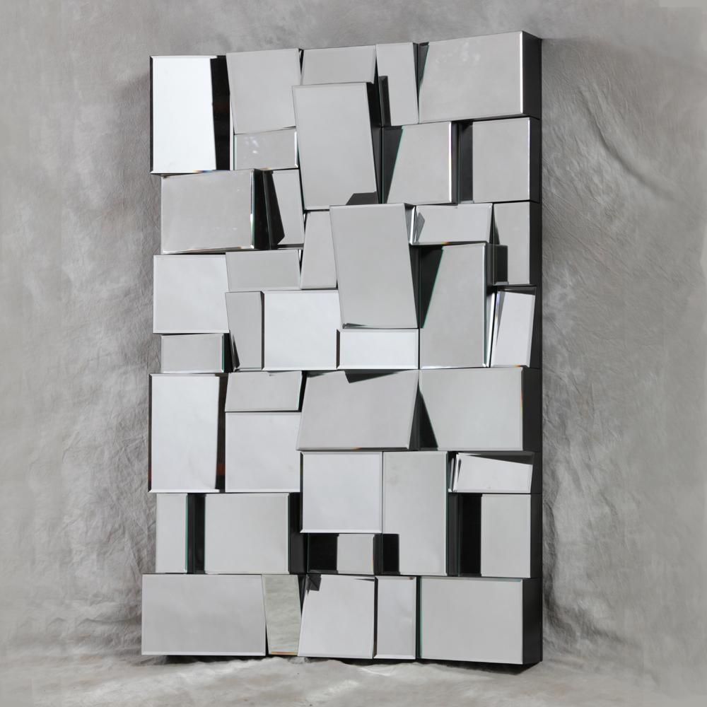 Square Mirror Wall Stickers