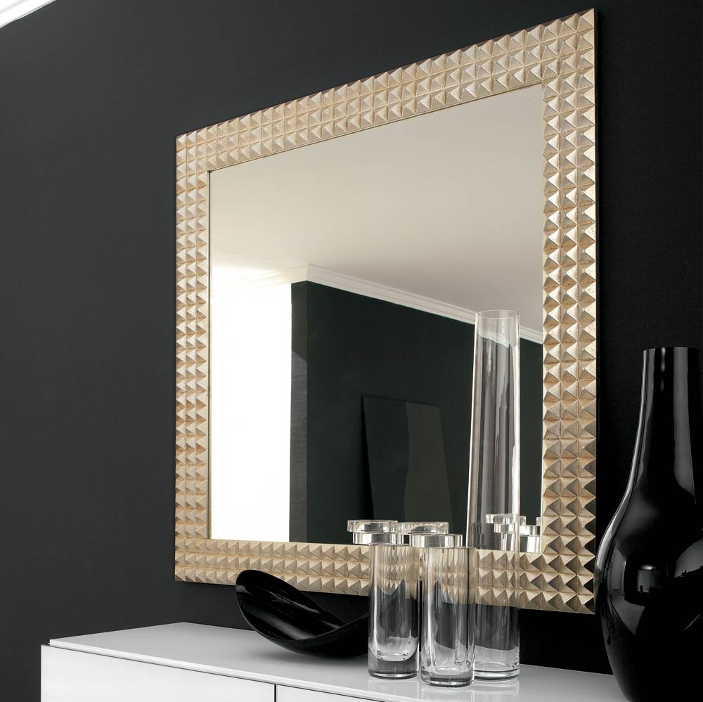 Square Wall Mirrors With Frames