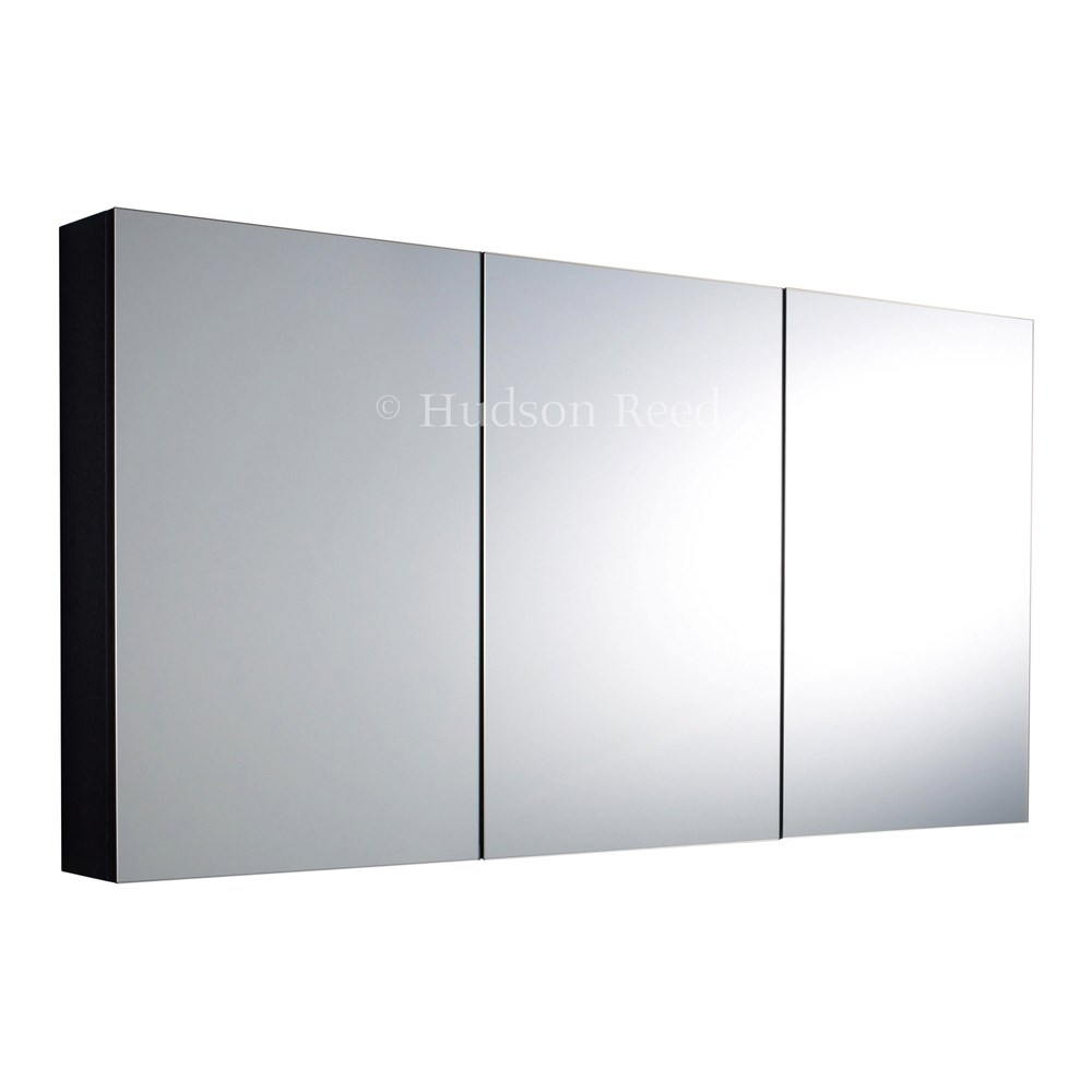 Stainless Steel Triple Mirrored Bathroom Cabinet