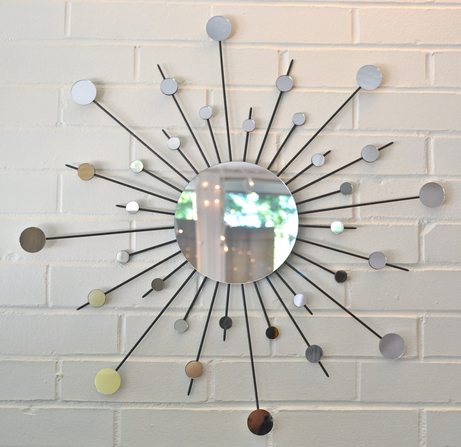 Permalink to Starburst Mirrored Wall Sconce