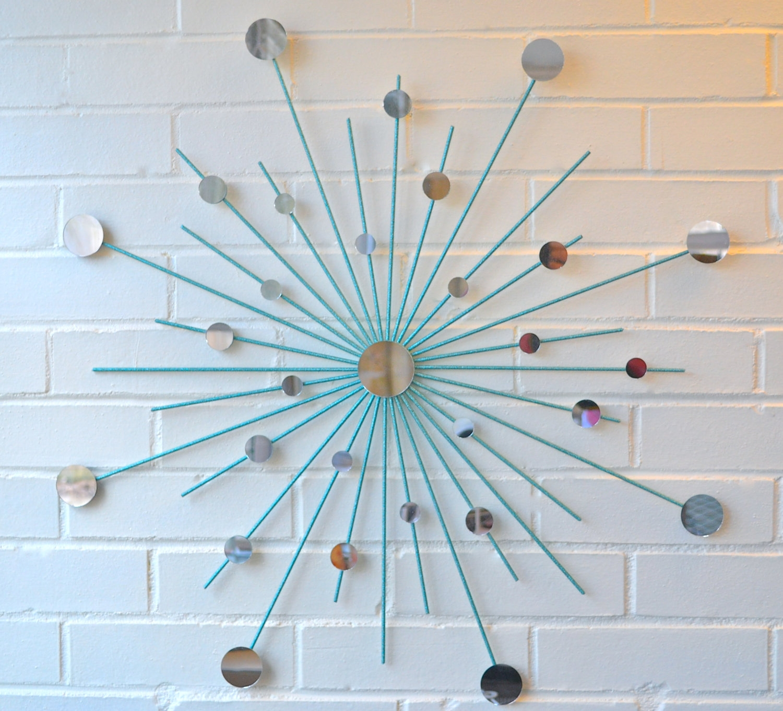 Sun Mirror Wall Art