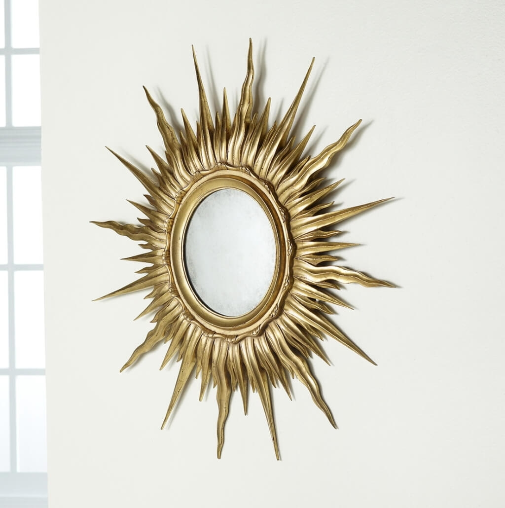 Sun Mirror Wall Decoration