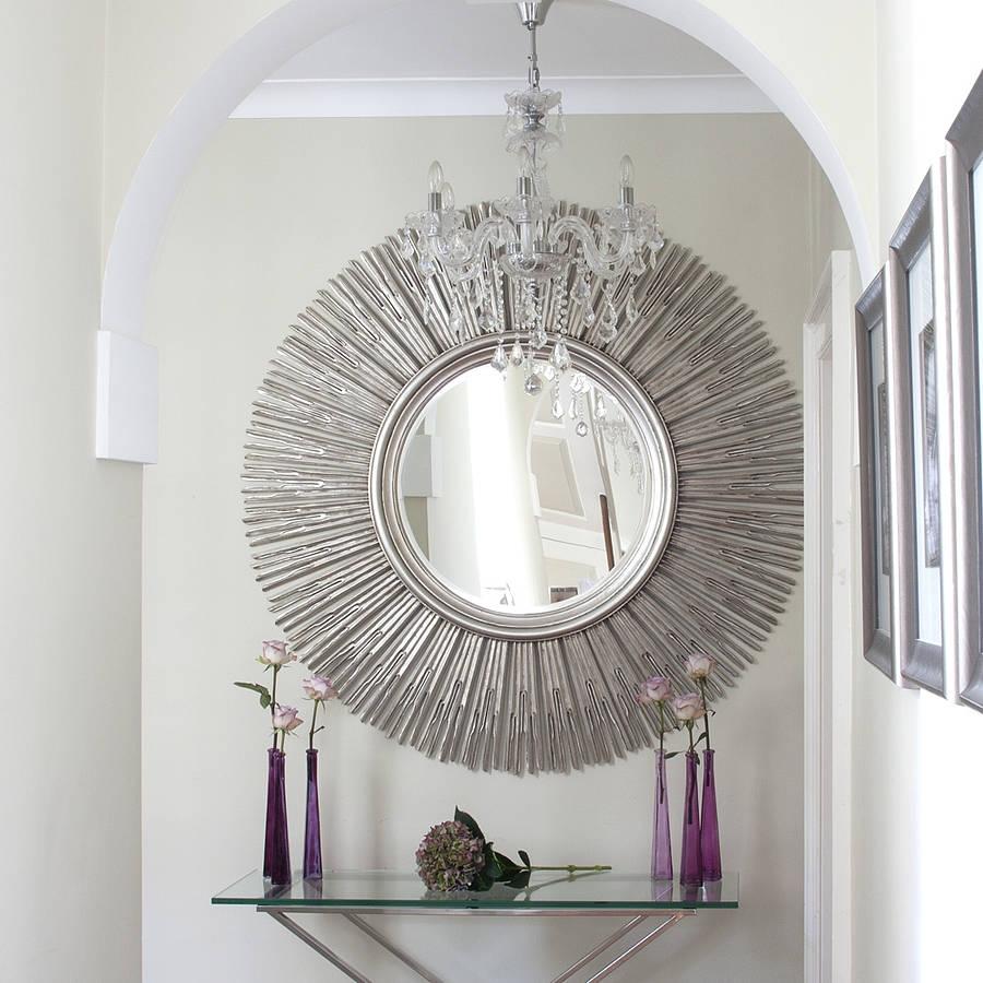 Sun Shaped Wall Mirrors