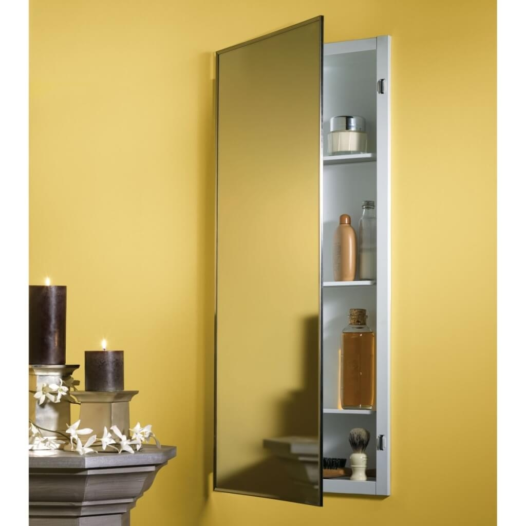 Tall Bathroom Mirror Cabinet