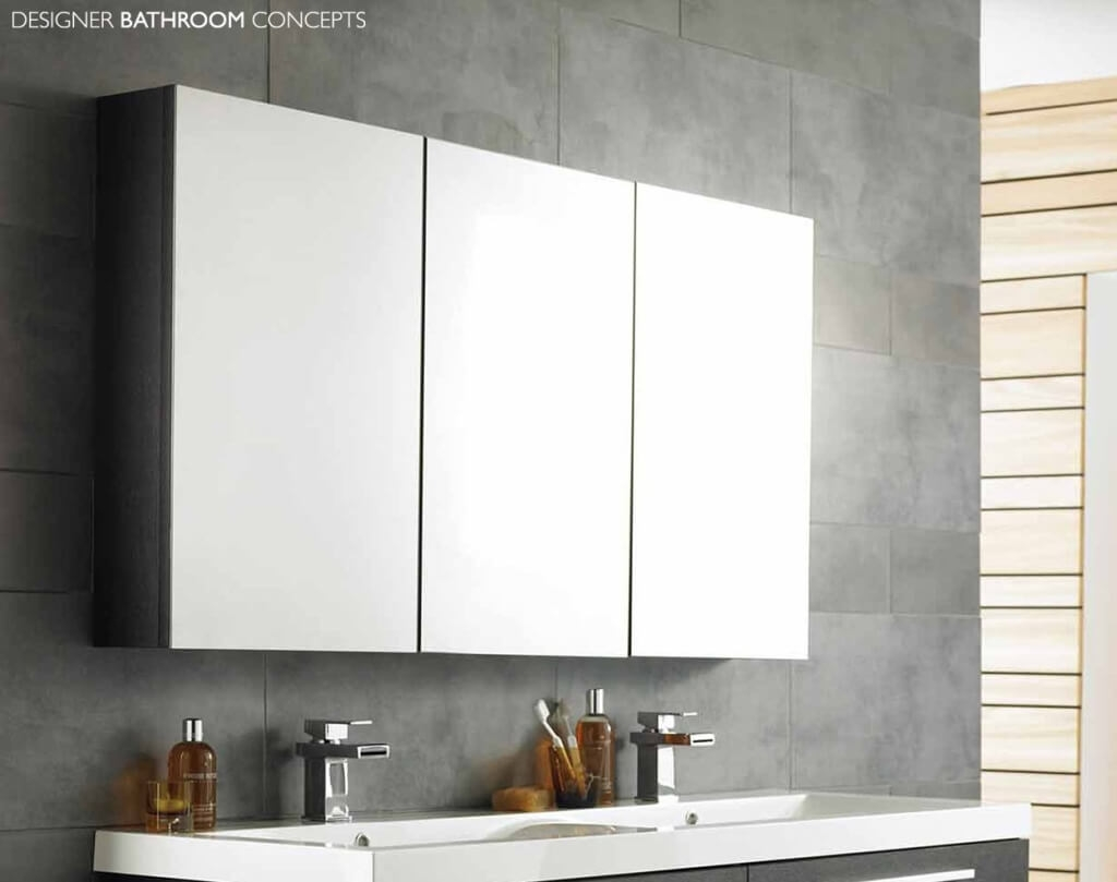 Tall Mirror Bathroom Wall Cabinet