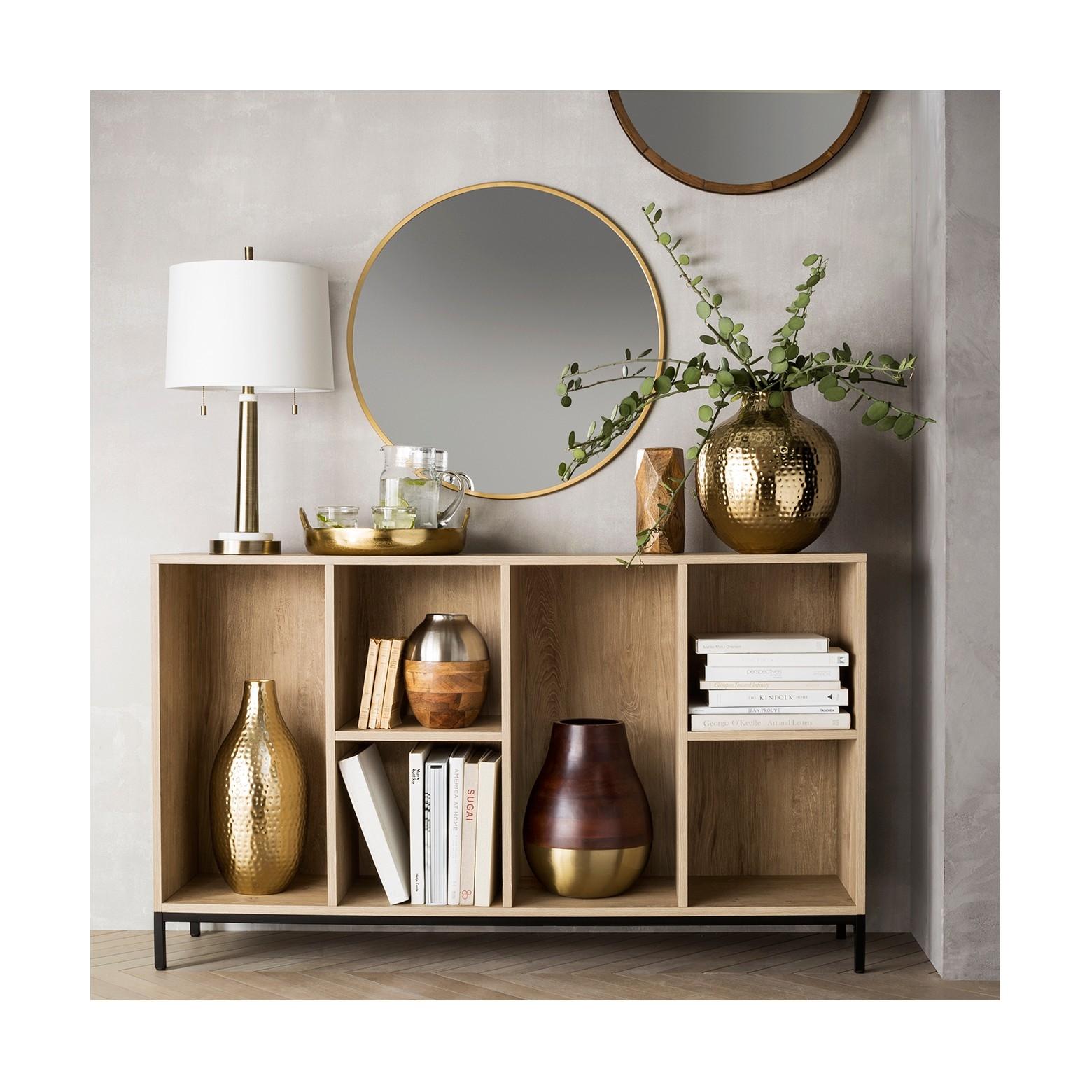 Thresholdtm Wall Shelf With Mirror