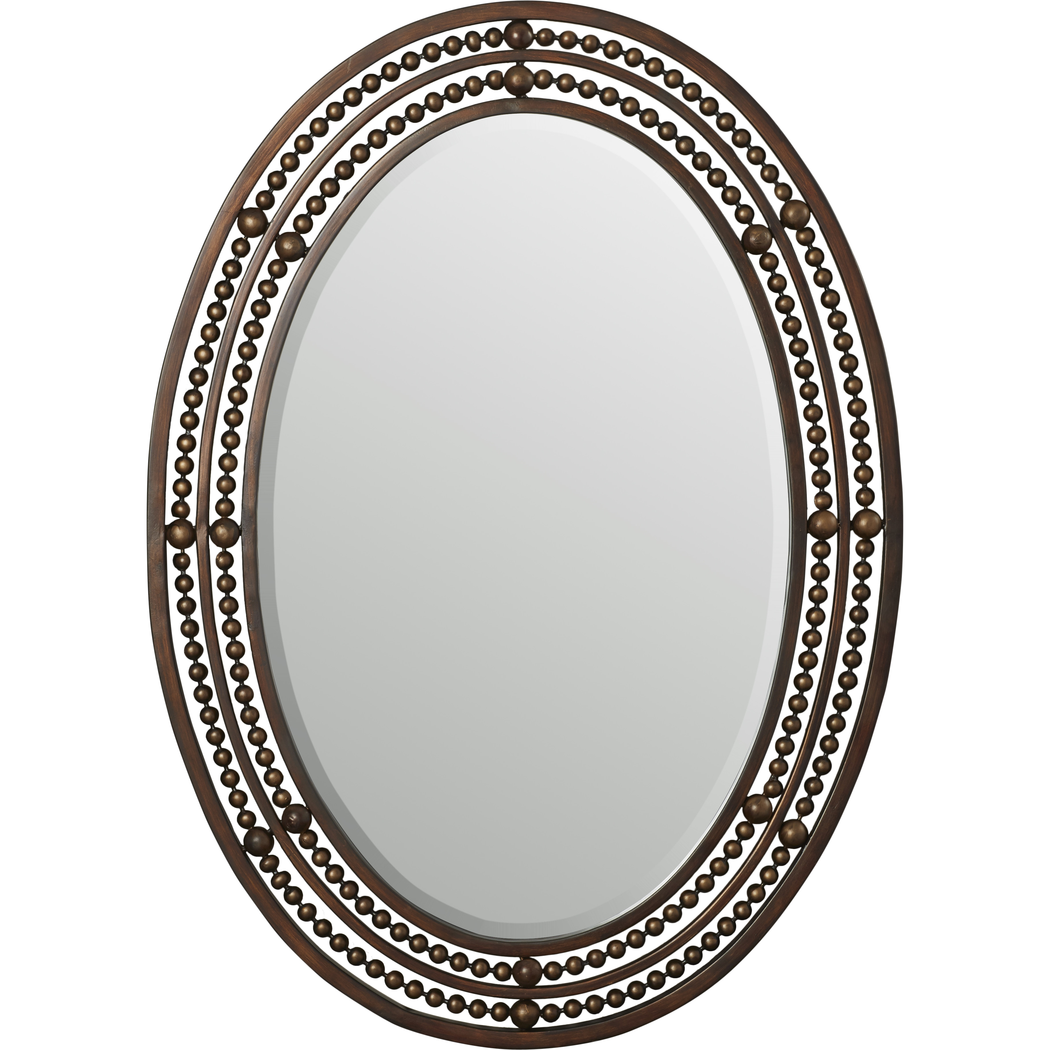 Traditional Oval Wall Mirrors