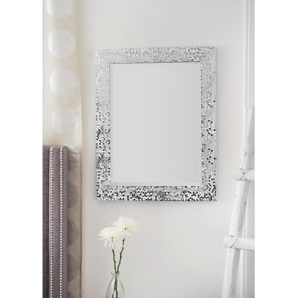 Triton Wall Mirror Silver