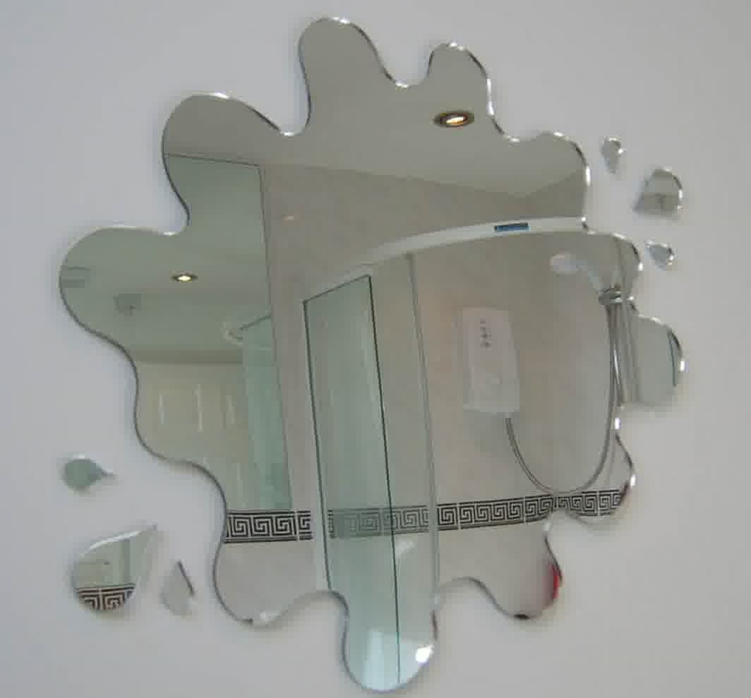 Unique Shaped Bathroom Mirrors