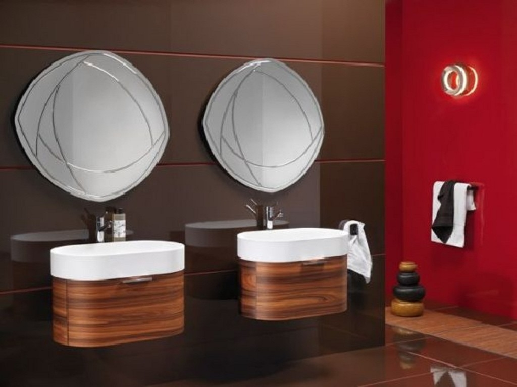 Unusual Bathroom Mirror Ideas