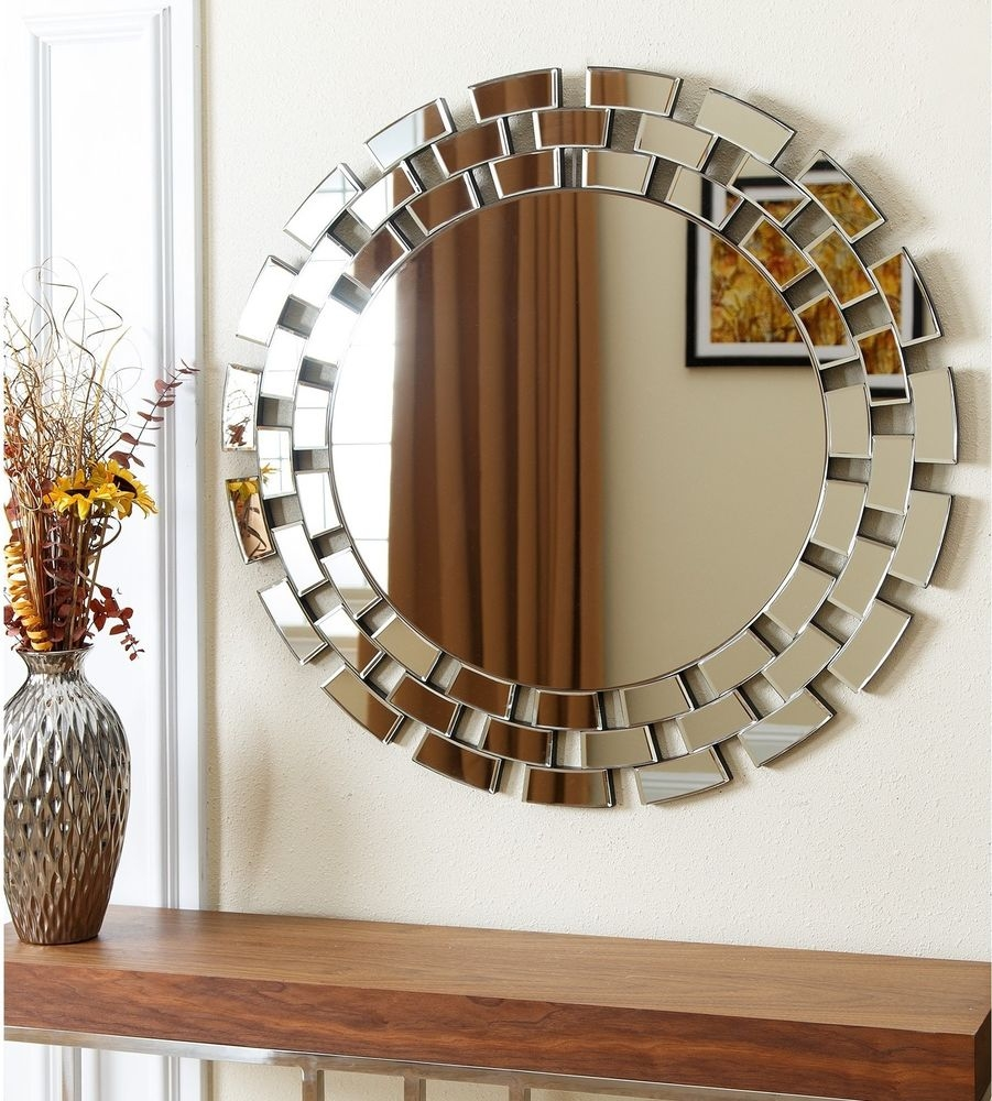 Unusual Silver Wall Mirrors