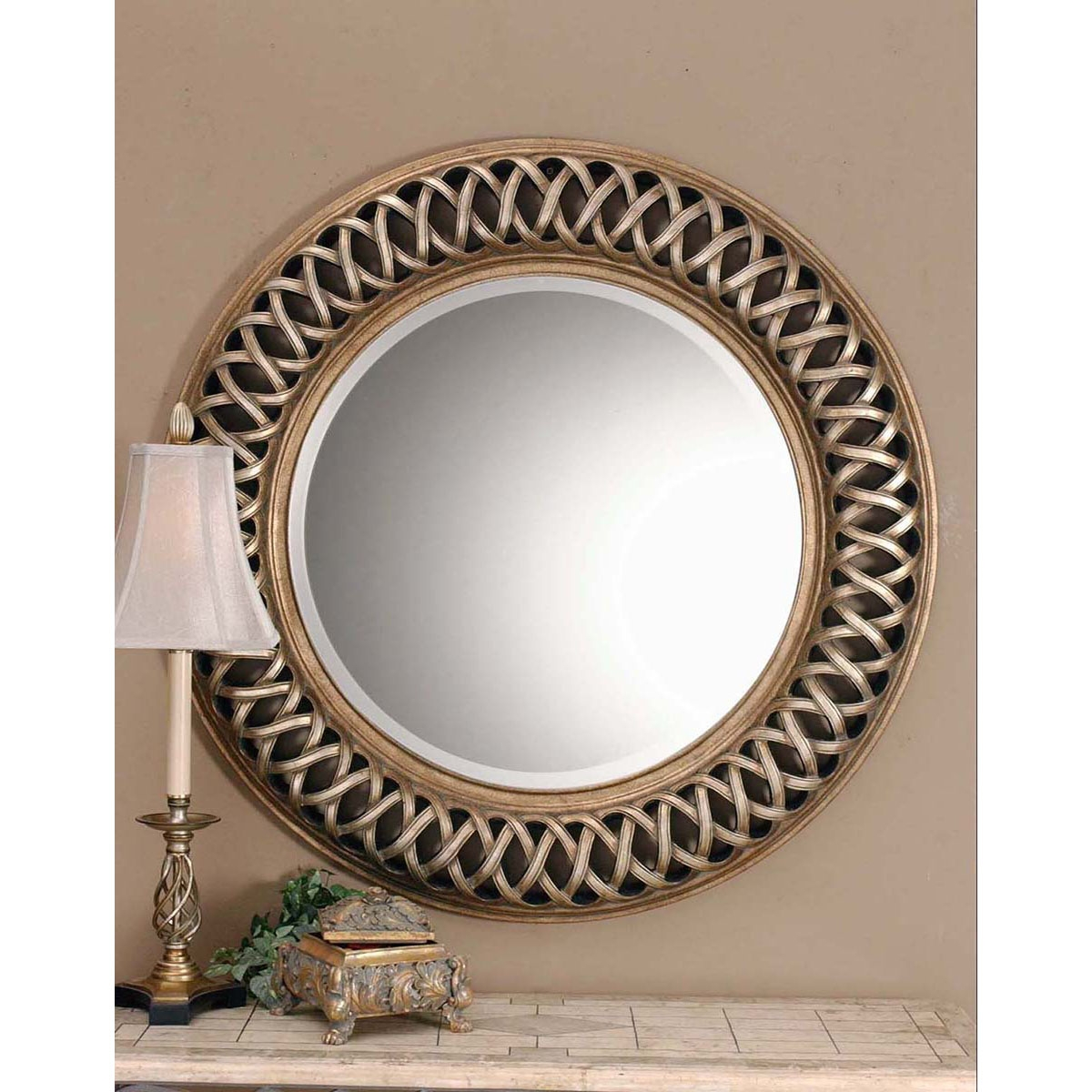 Uttermost Entwined Wall Mirror