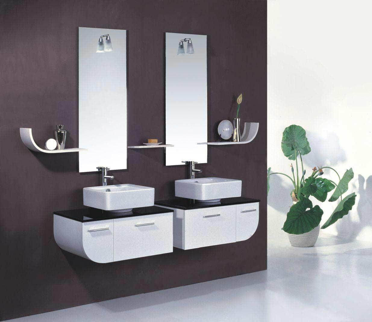 Vanity Bathroom Mirrors Contemporary