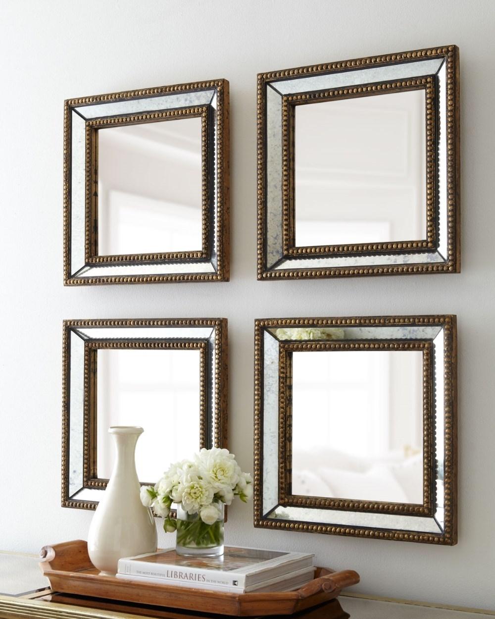 Venetian Beaded Wall Mirror