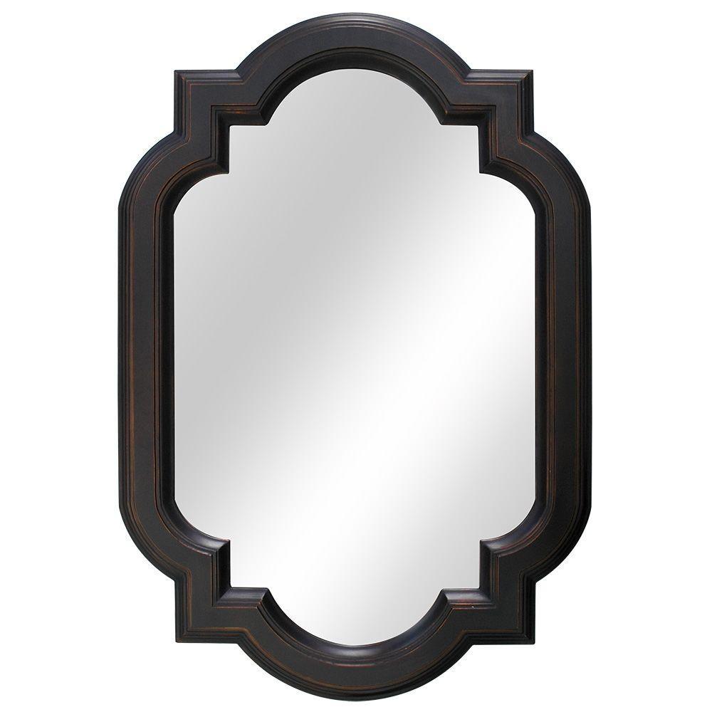 Venetian Bronze Framed Bathroom Mirror