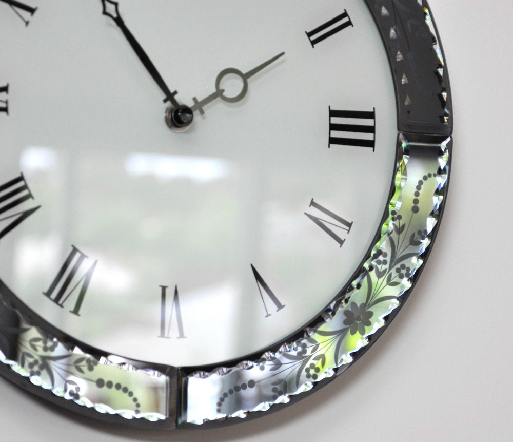 Venetian Mirror Wall Clock