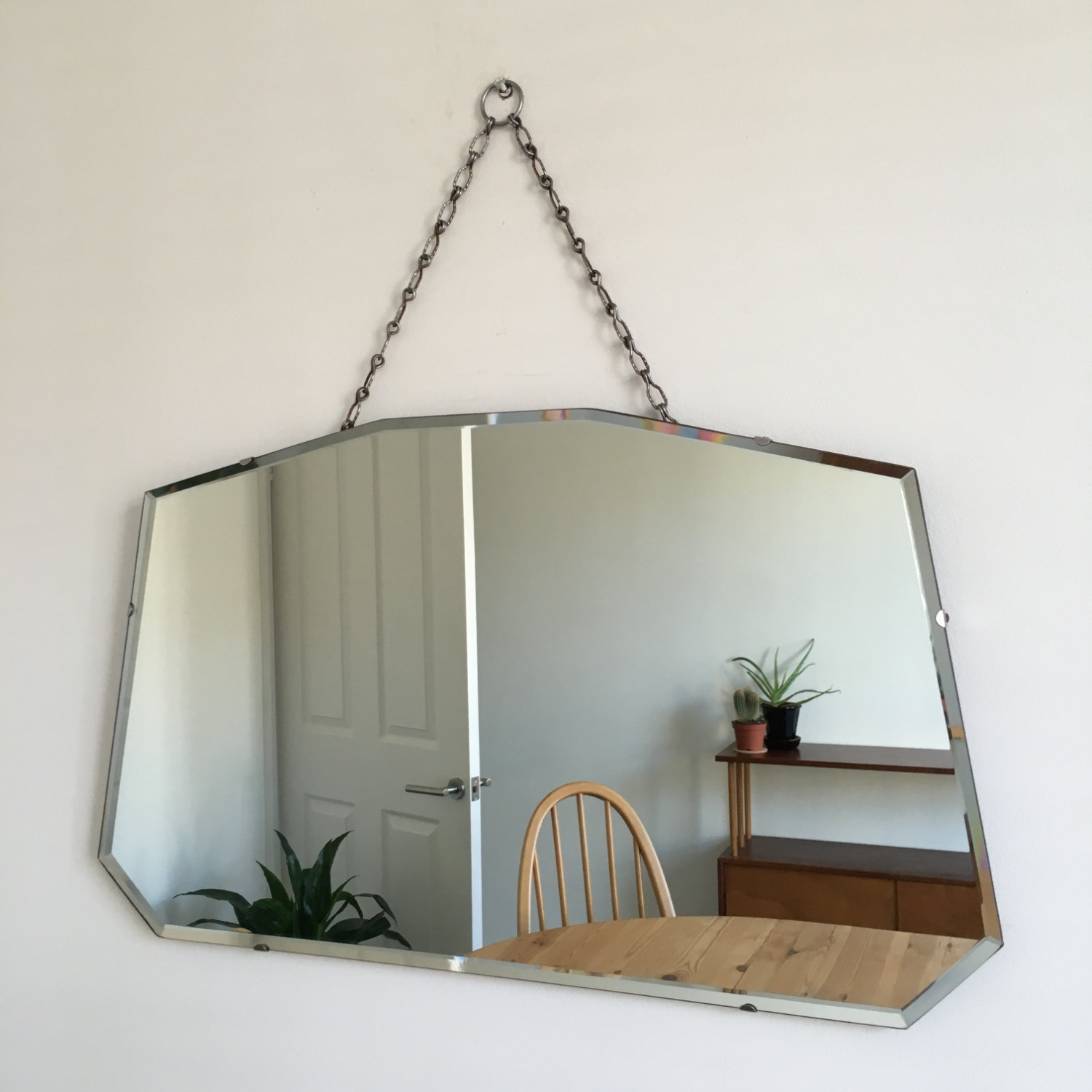 Vintage Wall Mirror Chain