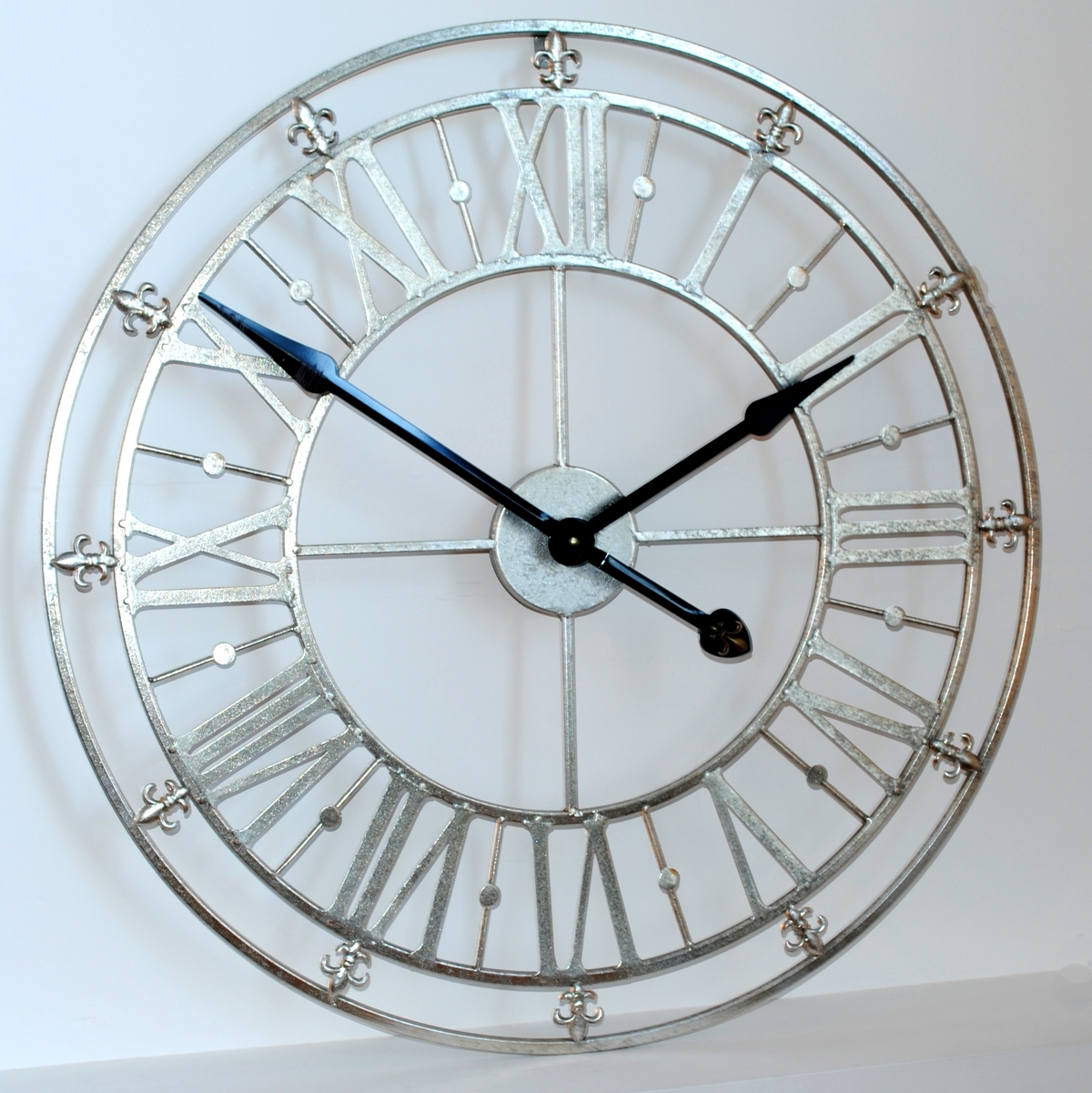 Wall Clock Mirror Large Wall Clock Mirror Large beautiful metal skeleton wall clock 126 extra large metal skeleton 1200 X 1201