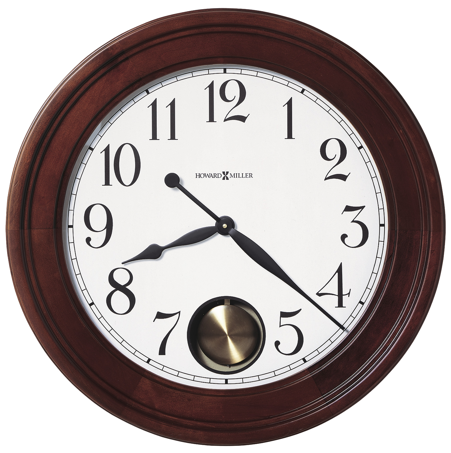 Wall Clock Mirror Station Glass Transparent
