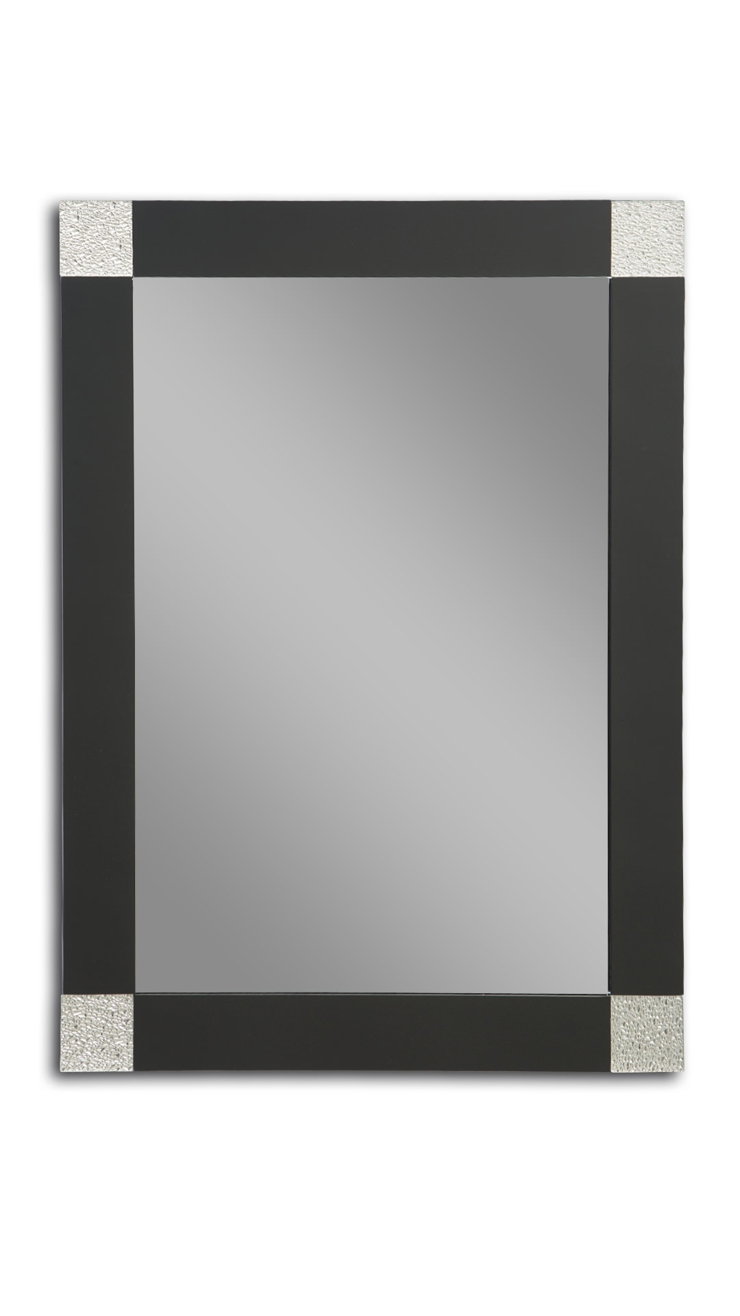Wall Mirror Black Rectangle