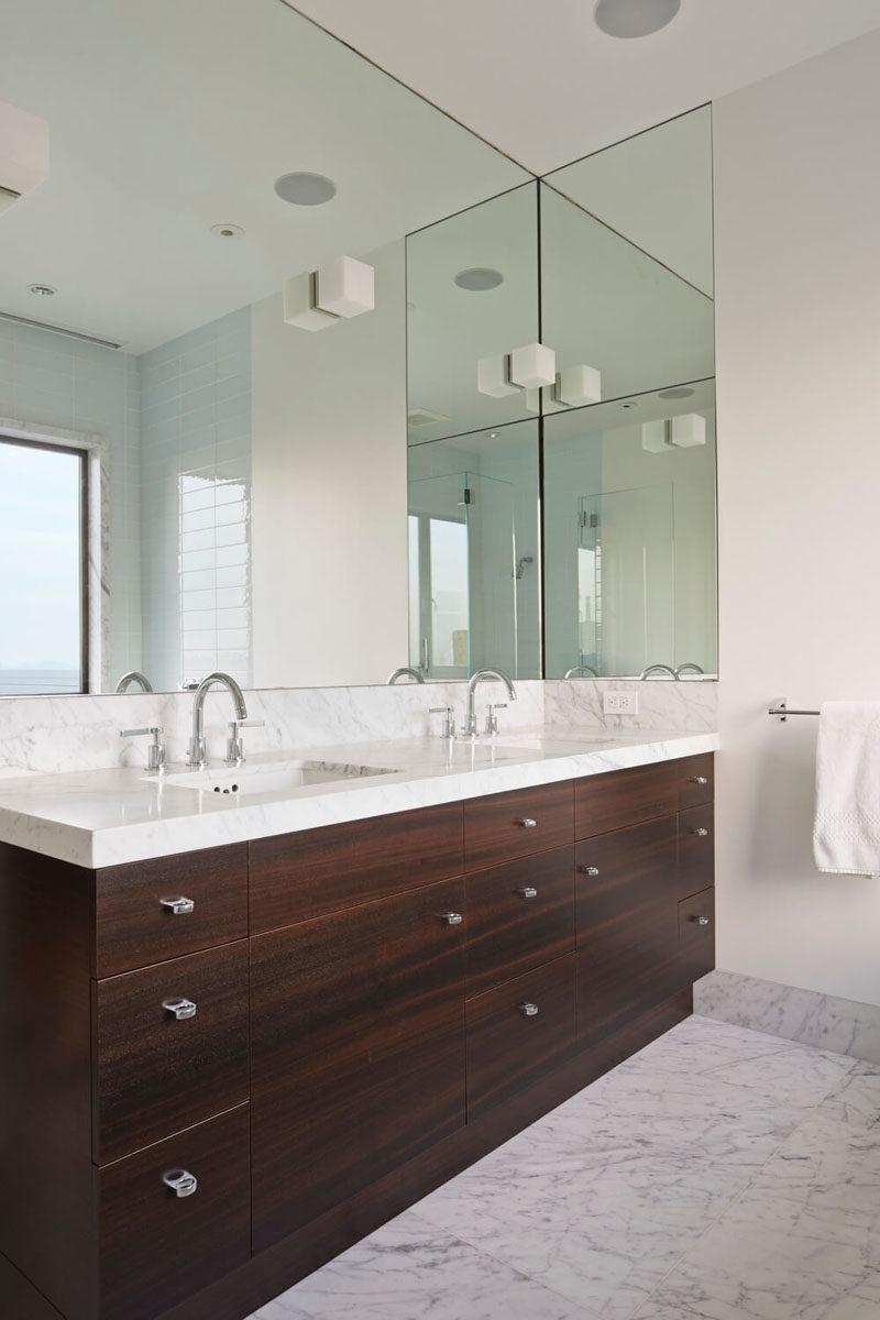Wall Mirror Ideas Bathroom