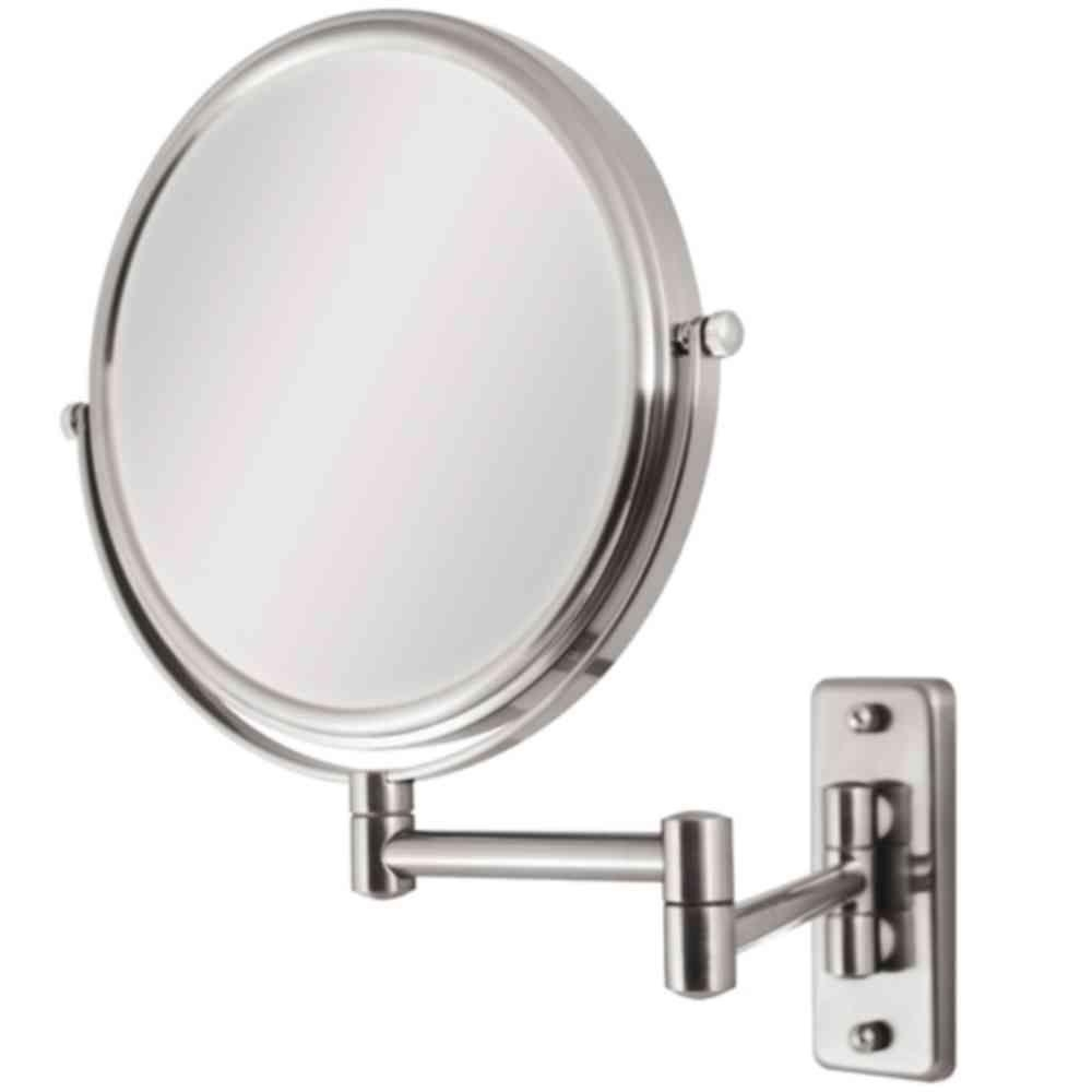 Wall Mount Magnifying Swivel Mirror