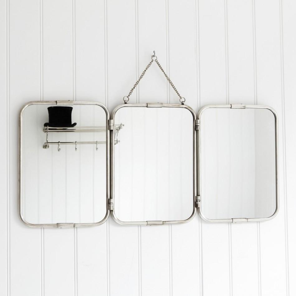 Wall Mounted Folding Mirror