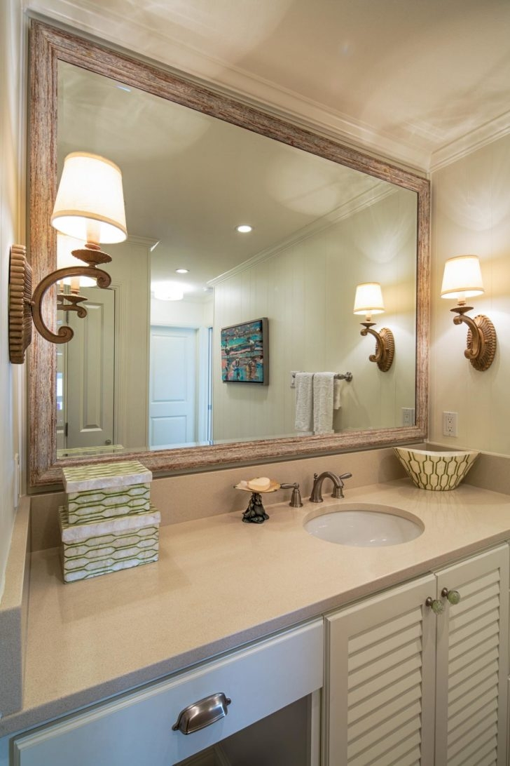 Wall Mounted Framed Bathroom Mirrors