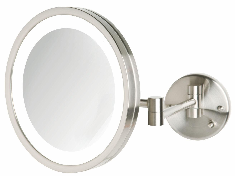 Permalink to Wall Mounted Illuminated Magnifying Mirror