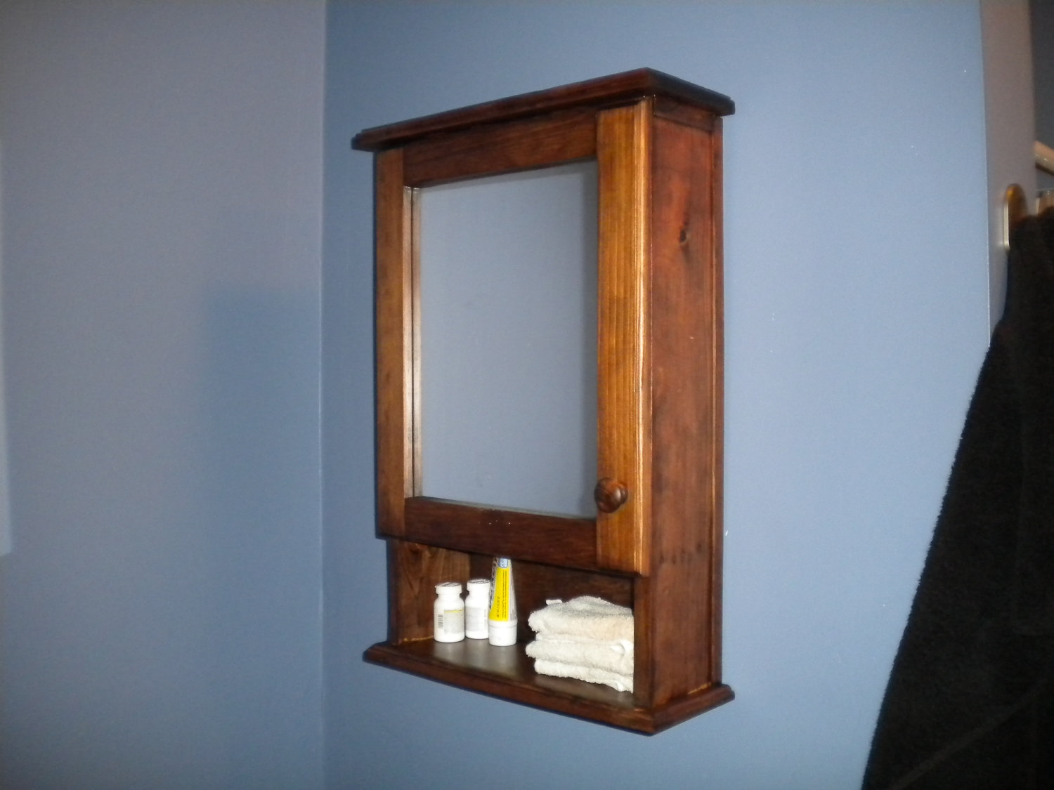 Wall Mounted Medicine Cabinet No Mirror