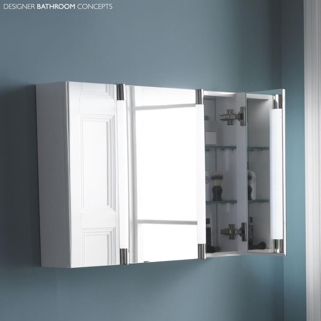 Wall Mounted Mirror Bathroom Cabinetbathroom attractive corner mirror bathroom cabinet with light and