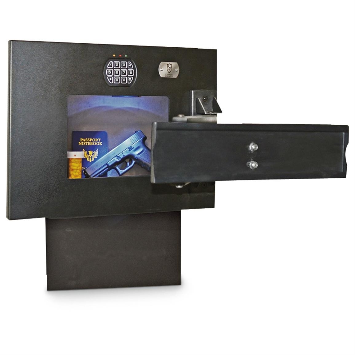 Wall Mounted Mirror Gun Safe