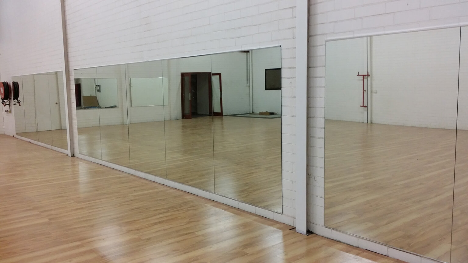 Wall Mounted Mirrors For Dance Studio