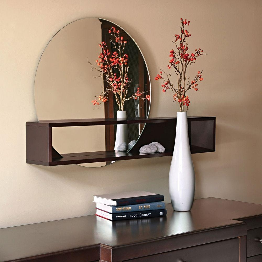 Wall Shelves With Mirror
