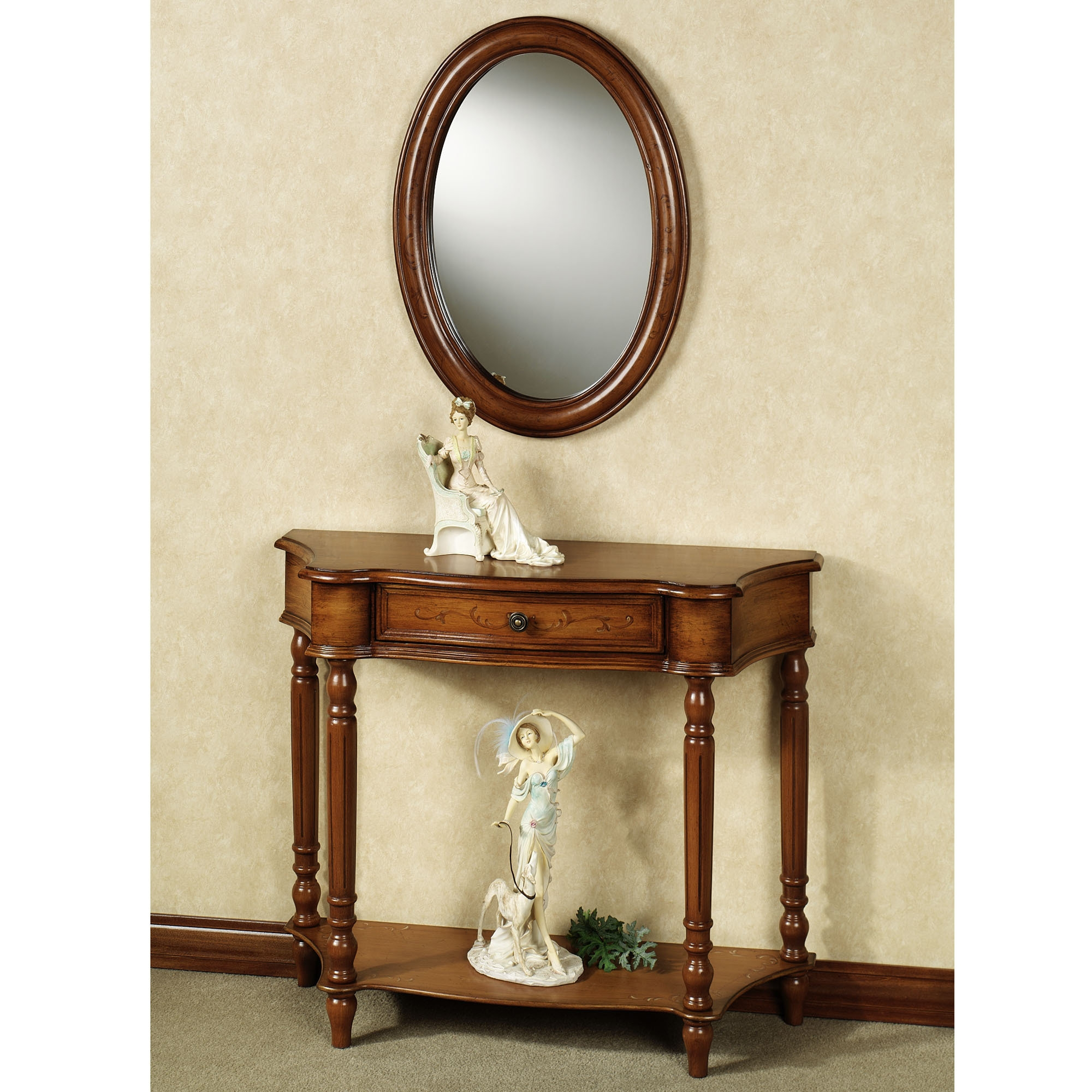 Wall Table And Mirror Sets