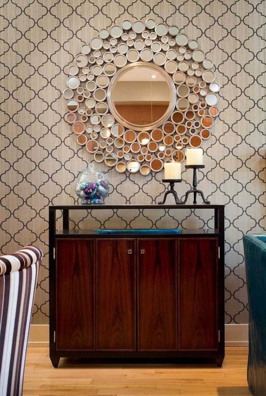 Wall To Wall Mirrors Design